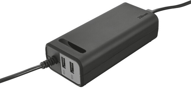 Trust Duo Laptop Charger 70 W USB