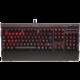 Corsair Gaming K70 RED LED + Cherry MX BLUE, EU