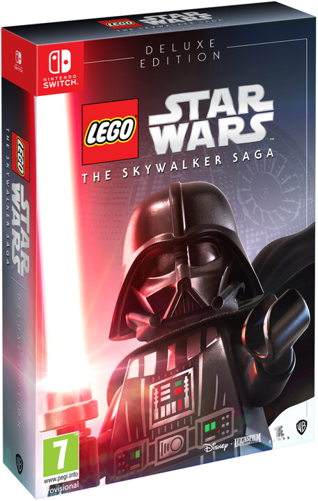 Lego Star Wars: The Skywalker Saga - Deluxe Edition (SWITCH)