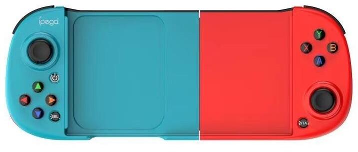 iPega 9217B Wireless Controller pro Android/iOS/PS3/N-Switch/Windows PC, modrá/červená
