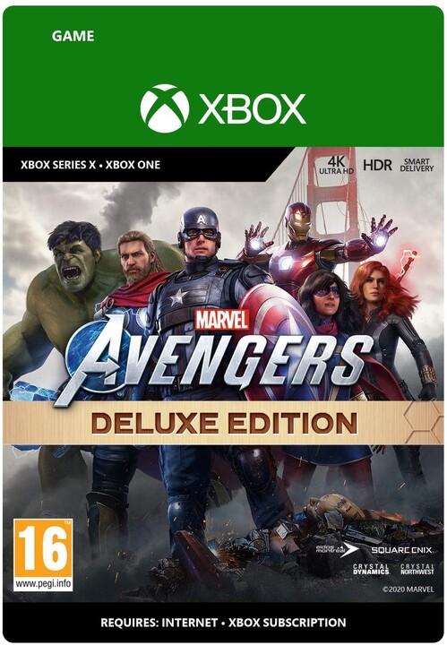 Marvel's Avengers: Deluxe Edition (Xbox ONE) - elektronicky