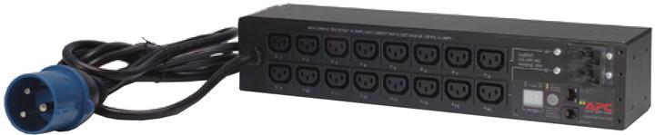 APC rack PDU, přepínatelné, 2U, 32A, 230V, (16)C13
