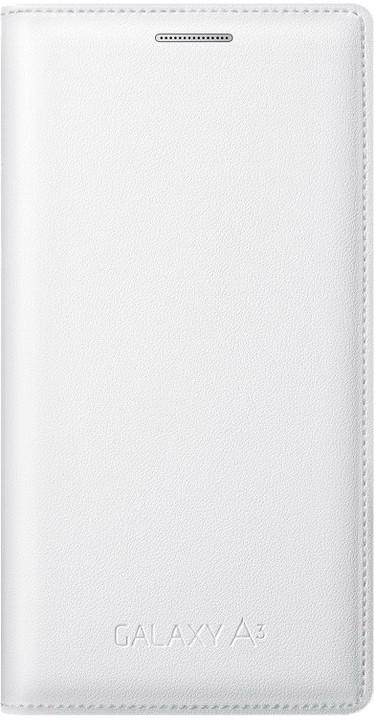 Samsung flipové pouzdro EF-FA300B pro Galaxy A3 (SM-A300), bílá