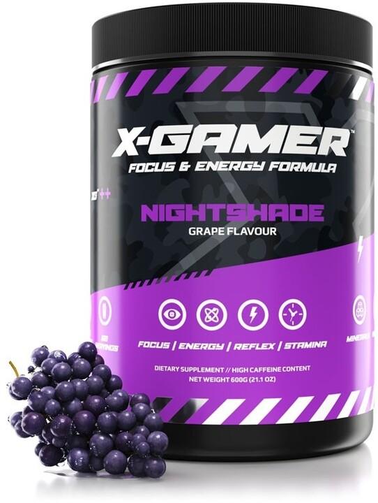 Doplněk stravy X-Gamer X-Tubz - Nightshade, 600g