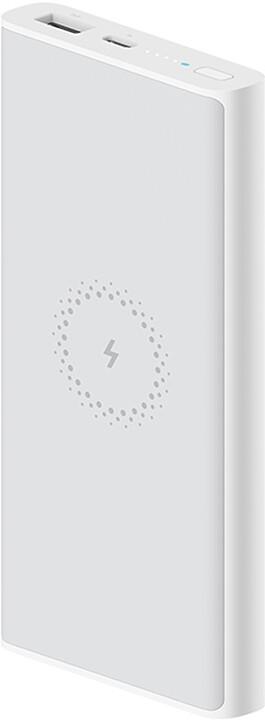 Xiaomi powerbanka Essential, bezdrátová, 10000 mAh, bílá