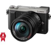 Panasonic Lumix DMC-GX80, stříbrná + 14-140 mm DMC-GX80HEGS