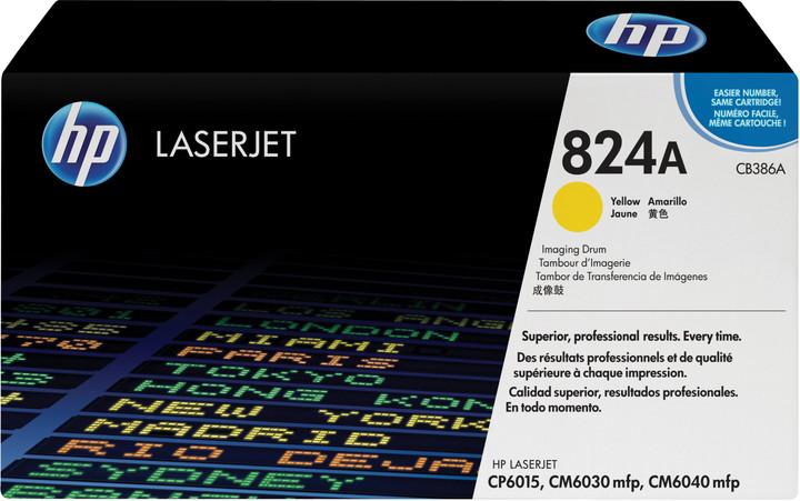 HP CB386A, žlutá