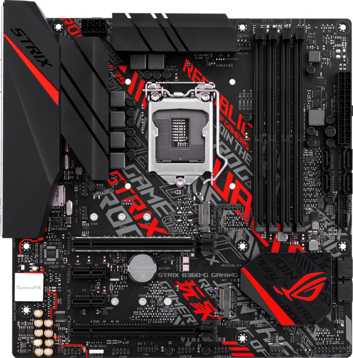 ASUS ROG STRIX B360-G GAMING - Intel B360