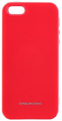 Molan Cano Jelly TPU Pouzdro pro Xiaomi Redmi 5 Plus, růžová