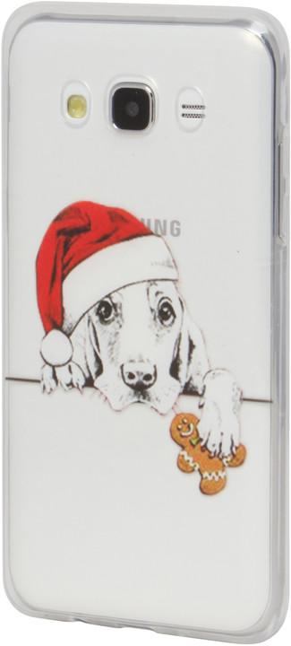 EPICO pružný plastový kryt pro Samsung Galaxy J5 (2016) XMAS DOG
