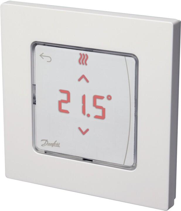 Danfoss Icon podlahový termostat, 24V, infra, montáž na zeď