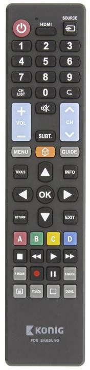 König univerzální dálkové ovládání pro televize Samsung