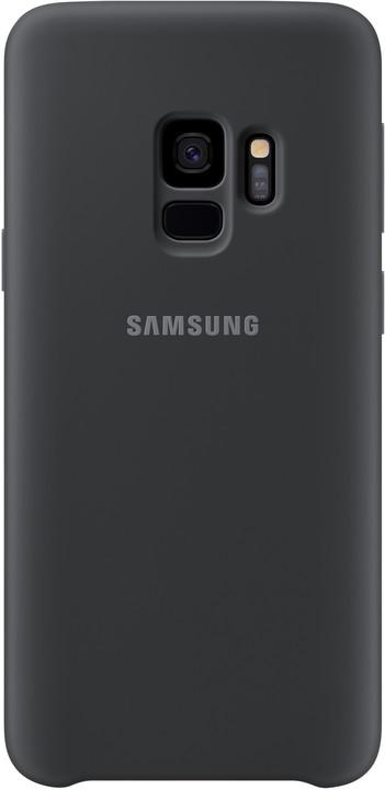 Samsung silikonový zadní kryt pro Samsung Galaxy S9, černý
