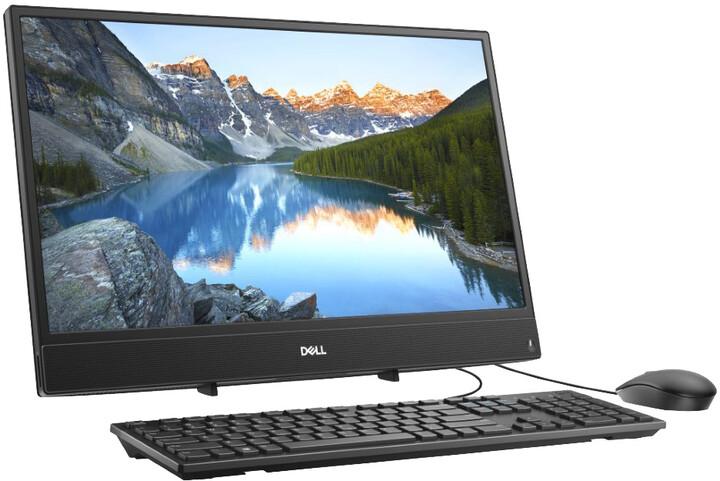Dell Inspiron One 3277, černá