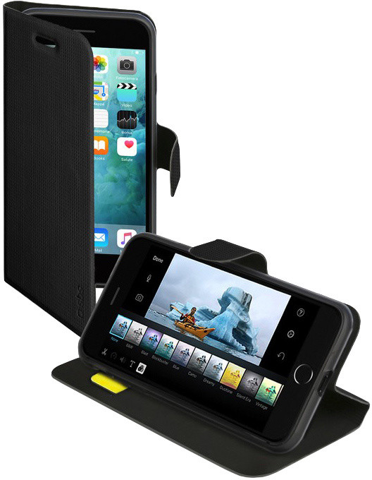 SBS Book Sense pouzdro pro iPhone 8/7 Plus, černá
