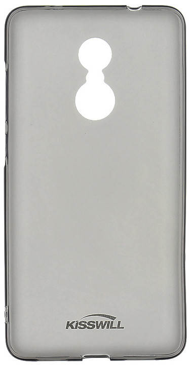 Kisswill TPU pouzdro pro Xiaomi Redmi Note 4 Global, černá