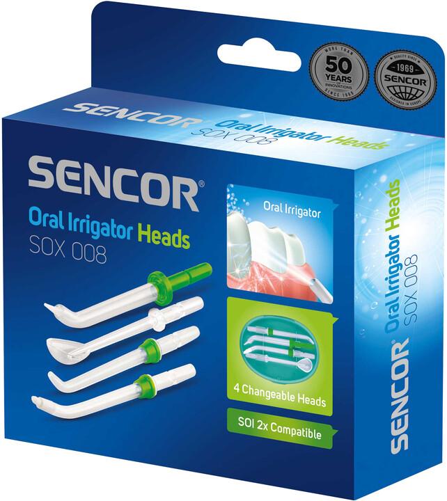 SENCOR náhradní nástavce SOX 008 pro SOI 22x