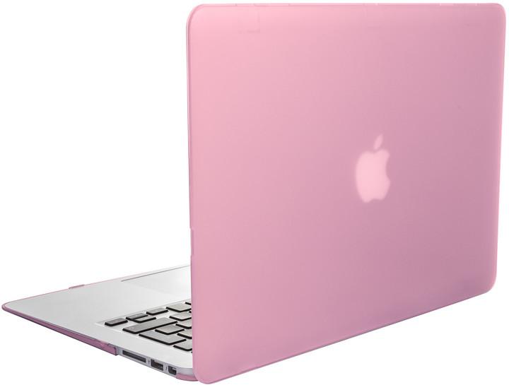 """EPICO plastový kryt pro MacBook Air 13"""" 2018 MATT (A1932), růžová"""