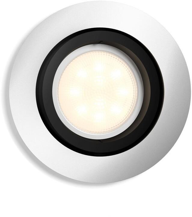 Philips Hue White Ambiance Podhledové svítidlo Milliskin BT 50411/48/P9 hliníkové