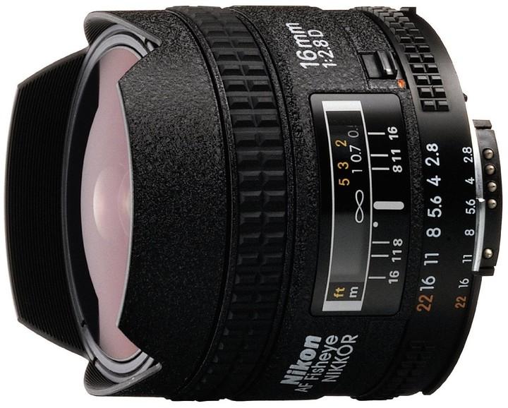 Nikon objektiv Nikkor 16mm f/2.8D AF Fisheye