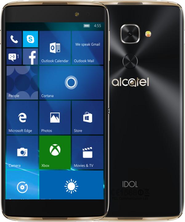 ALCATEL IDOL 4PRO 6077X, zlatá