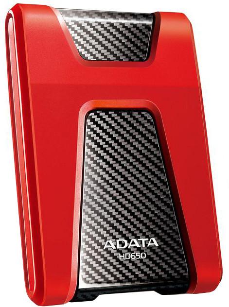 ADATA HD650, USB3.1 - 2TB, červený
