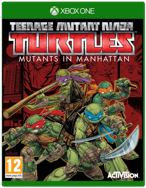 Teenage Mutant Ninja Turtles: Mutants in Manhattan (Xbox ONE)