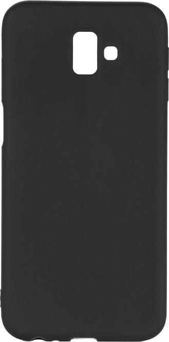 EPICO Pružný plastový kryt pro Samsung Galaxy J6+ SILK MATT, černý