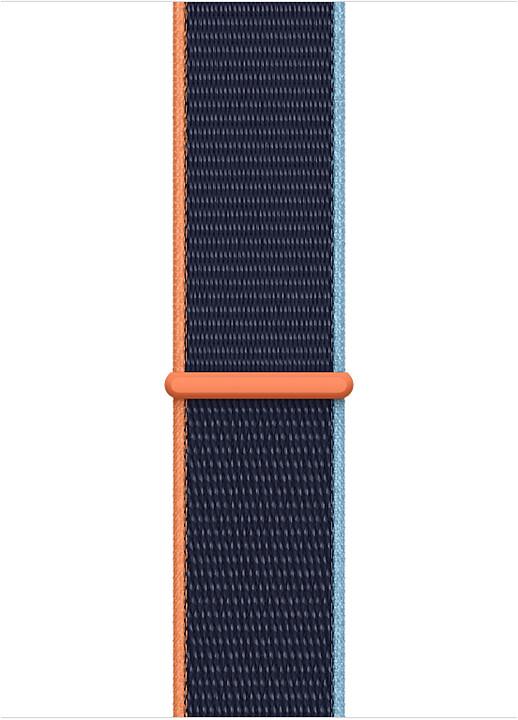 Apple řemínek pro Watch Series, provlékací sportovní, 44mm, tmavě modrá