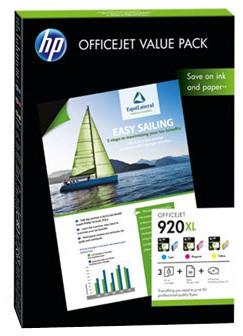 HP 920XL + papír A4, 50ks, 180 g/m2