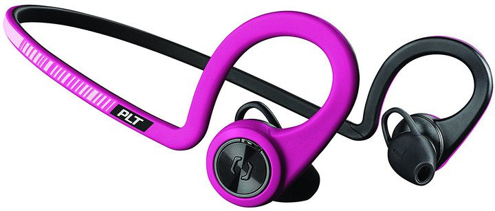Plantronics Backbeat FIT, fuchsiová