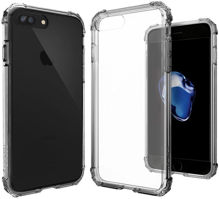 Spigen Crystal Shell pro iPhone 7 Plus, dark crystal