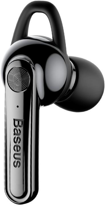 BASEUS magnetické sluchátko Bluetooth, černá