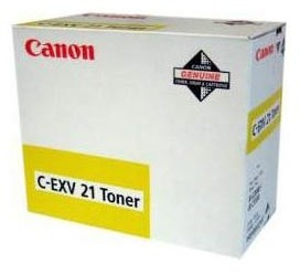 Canon C-EXV-21, žlutý