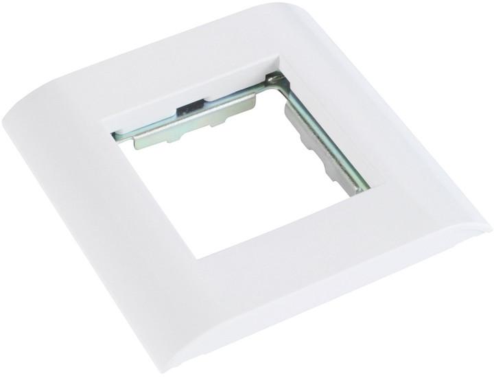 Solarix rámeček pro SXF-M French style moduly 80 x 80mm bílý