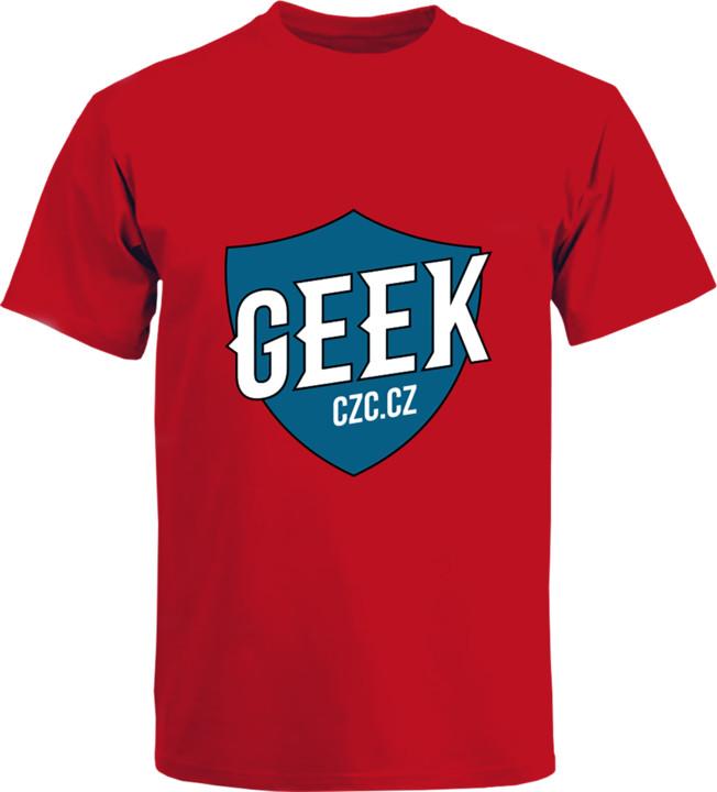 Bonus tričko GEEK pánské - modrá, L