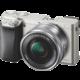 Sony Alpha 6000 + 16–50mm, stříbrná O2 TV Sport Pack na 3 měsíce (max. 1x na objednávku)