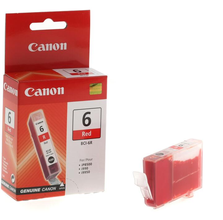 Canon BCI-6R, červená
