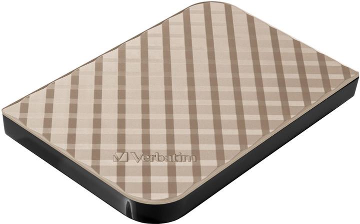 Verbatim Store'n'Go Anniversary Edition Gold - 2TB