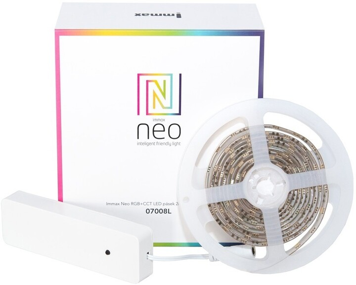 IMMAX NEO RGB+CCT LED pásek 2m s kontrolerem Zigbee