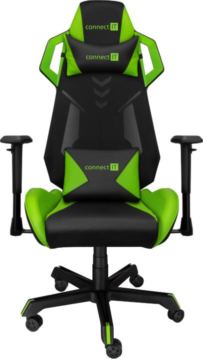 CONNECT IT Alien Pro, černá/zelená