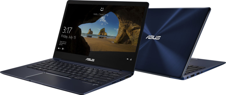 ASUS ZenBook 13 UX331UA, modrá