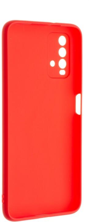 FIXED pogumovaný kryt Story pro Xiaomi Redmi 9T, červená