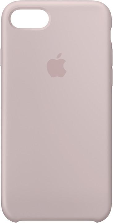 Apple Silikonový kryt na iPhone 7/8 – pískově růžový