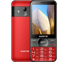 Aligator A900 Senior, Red + nabíjecí stojánek - A900R