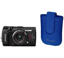 Olympus TG-5, černá + neoprene case kit - V104190BE030 + Olympus TOUGH Adventure Pack (v ceně 1 490 Kč)