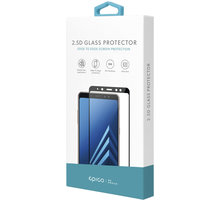 EPICO GLASS 2,5D tvrzené sklo pro Huawei Y6 (2019), černá