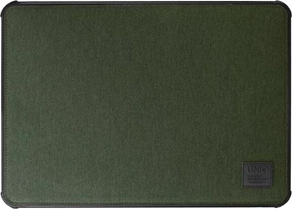 UNIQ dFender Tough LaptopSleeve (Up to 15 Inche), khaki green