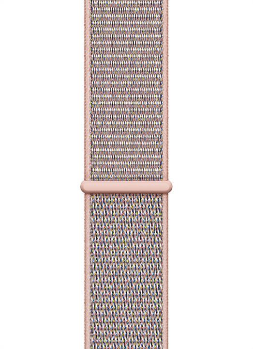 Apple provlékací sportovní řemínek, 44mm, pískově růžová
