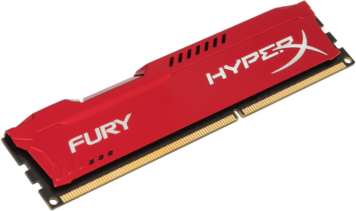 HyperX Fury Red 8GB DDR3 1600